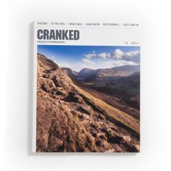 Cranked #4 front cover: Boredale Hause bridleway, Lake District