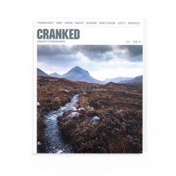 Cranked #8 cover - Allt Dearg Beag, Sky (Jonathan Bacon)